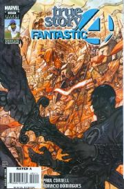 Fantastic Four True Story #3 (2008) Marvel comic book